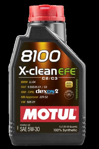 Motul 109470 8100 x clean efe 5w 30 1l