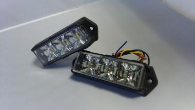Pack 2x Feux de pénétration Led Bi-colore High Power 180°