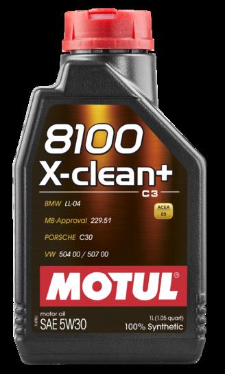 Motul 106376 8100 x clean 5w30 1l
